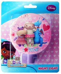Doc Mcstuffins Home Decor Amazon Com Disney Doc Mcstuffins Night Light We All Care