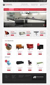 website template 41703 furnico furniture profile custom website