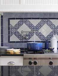 Blue Kitchen Backsplash Blue Kitchen Tile Backsplash Dp David Stimmel Contemporary