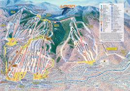 Big Sky Montana Trail Map by Overview Of Loon Mountain New Hampshire Snowpak