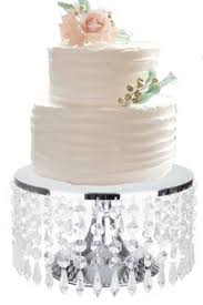 crystal wedding cake stands shopwildthings com