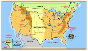 world map with rivers and mountains labeled pdf rivers of usa map map usa map images united states physical map