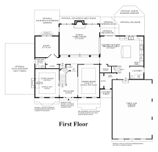 Georgian Floor Plan by Marlboro Ridge The Estates The Chelsea Home Design
