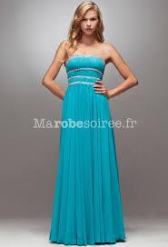 robe turquoise pour mariage robe de cérémonie longue poitrine et taille brillante robes ines