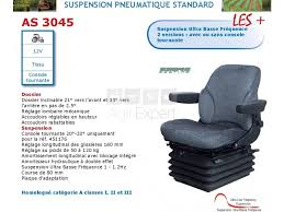 siege pneumatique basse frequence sears as3045 tissu avec console tournante suspension ultra basse