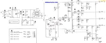 component switching power supply schematic atx12v m605 sg6105