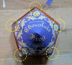honeyduke u0027s chocolate frog box 6 steps with pictures