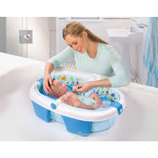baby needs summer infant newborn to toddler fold away baby bath baby