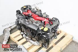 subaru impreza turbo engine jdm 02 03 subaru impreza wrx sti ej207 turbo engine avcs quad cam