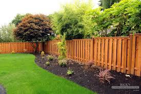 good neighbor cedar fences by rick u0027s fencing serving or u0026 wa