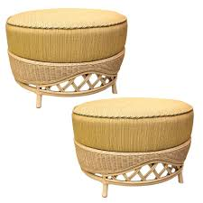 Outdoor Storage Ottoman Bench Ottomans Yellow Ottoman Bench Knitted Pouf Gold Metal Storage