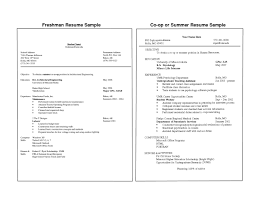 Resume Examples For Students Resume Template For Freshman College Student Template