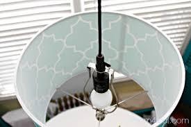 Make Your Own Pendant Light Kit Hanging L Shade Kit How To Make Your Own Drum Light Has A Link