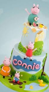 George Pig Cake Decorations Peppa Pig Cake Cakes U0026 Cake Decorating Daily Inspiration