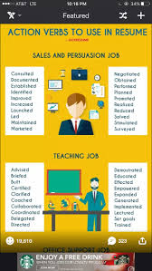 Words To Use In Resumes 47 Best Work Images On Pinterest Professional Resignation Letter