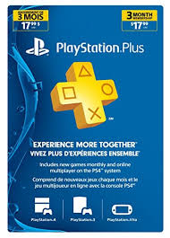 sony 3 month membership psn live subscription card