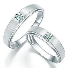 wedding bands for couples charming his and hers anniversary gift rings 0 20 carat diamond on