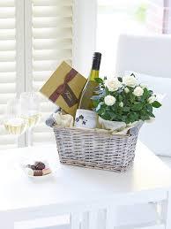 Wine Gift Basket Luxury White Wine Gift Basket Bbl Design Ecommerce