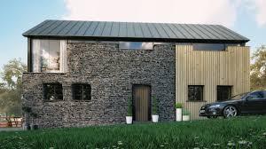 Modern Barn by Modern Barn Conversion Ballymena Slemish Design Studio Architects