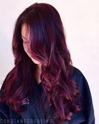 purple brown hair colors for 2018 u2013 best hair color ideas u0026 trends