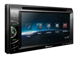 avh x1500dvd 2 din multimedia dvd receiver with 6 1