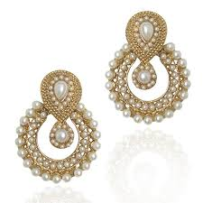 earrings for women girl women s faux pearl traditional ethnic