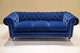 Blue Sleeper Sofa Living Room Blue Velvet Sleeper Sofa Pertaining To Best 25