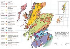 Map Scotland Scotland Geology Map Scotland U2022 Mappery