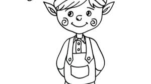 free printable coloring pages of elves elf pictures to print coloring page elf pictures excellent elf
