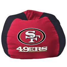 san francisco 49ers bean bag chair nflshop com