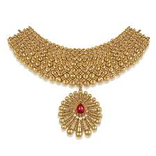 jewellery choker necklace images Buy gold choker necklace best gold choker set designs online azva jpg