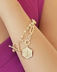 charm bracelet for parisian gold charm bracelet june sablan designs