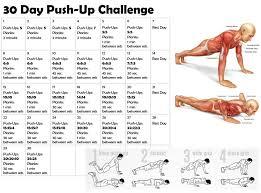 Challenge Up 30 Day Push Up Challenge Sonshine