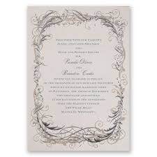 white wedding invitations simple invites invitations by