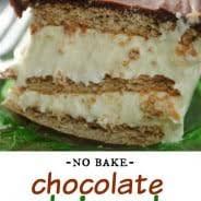 chocolate eclair cake shugary sweets