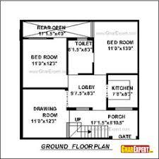 Map Of 8 Marla House Gharexpert Com Small House Plan Map