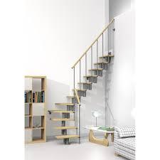 escalier design bois metal escalier quart tournant strong structure métal marche bois leroy