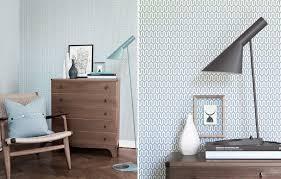 papiers peints chambre papiers peints pour une chambre scandinave au fil des