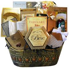 food basket gifts standing ovation gourmet food basket candy option