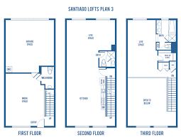 Santiago Street Lofts Plan 3