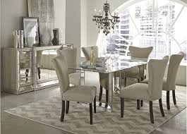 exquisite decoration mirrored dining table astounding ideas