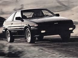 1986 toyota corolla gts hatchback for sale 1984 1987 toyota corolla sport coupe a last rear wheel drive