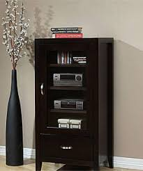 Multimedia Cabinet With Glass Doors Overstock Axium Audio Cabinet Store And Protect Your
