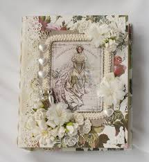 wedding scrapbooks albums wedding handmade chipboard scrapbook photo album