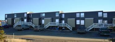 Row Houses by Raven Row Houses Inuvik Apartments Northern Property Reit