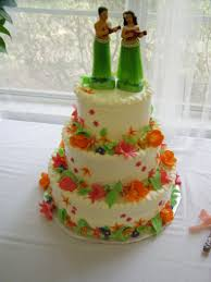 hawaiian theme wedding awesome hawaiian themed wedding cakes gallery styles ideas