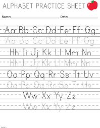 letter practice worksheets kindergarten letter idea 2018