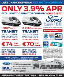 ford transit cab motor company
