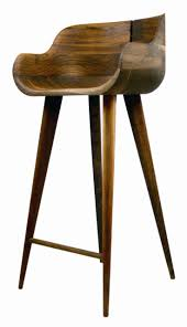 Modern Wood Bar Stool Excellentinsomeood Inch Rta Single Saddle Seat Counter Stool