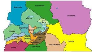 map of brasilia maps brasilia